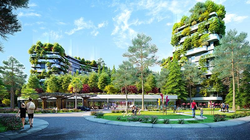 Forest in the sky - sống xanh đẳng cấp sinh lợi lâu dài