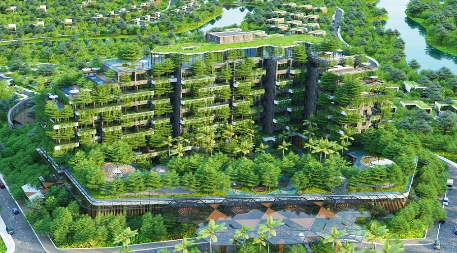 """Kiến trúc xanh - """"Linh hồn"""" cho các dự án nghỉ dưỡng của Flamingo"""